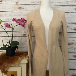 Guinevere dusted sweater cardigan